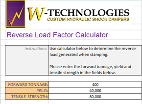 Reverse Load Factor Calculator